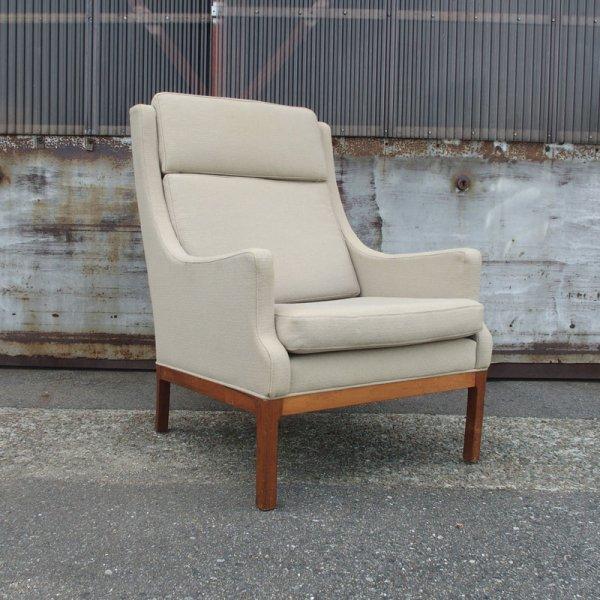 どっしりと、ゆったりとくつろげる。Rosewood Easy Chair