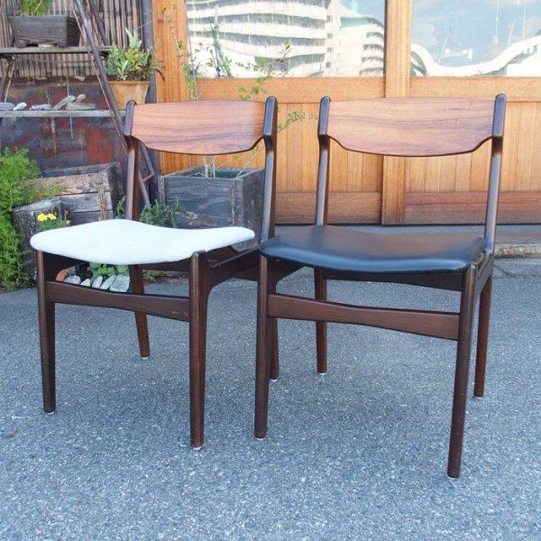 すっきりとしたシンプルなデザイン Rosewood×Beech Dining Chair