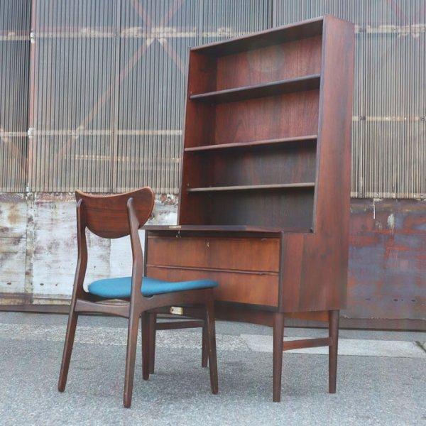 ローズウッド材の落ち着き。比較的コンパクトなサイズも◎ Rosewood Bookcase Bureau