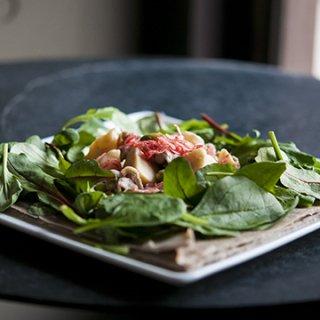 『LE COFFRET DE COEUR - 白金本店』筍と豚肉の柚子胡椒ガレット