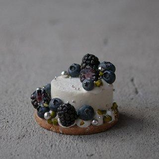 2018SS新作 VIOLET / 雨の日の色彩 / 青リンゴとベルガモットのムースケーキ【店舗販売のみ】5/21〜