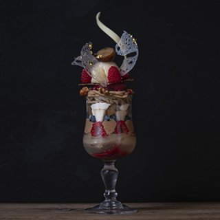 『patisserie de bon coeur - 武蔵小山本店』10月限定デセール /洋梨と栗のパルフェ