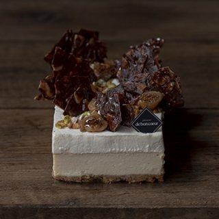 GATEAU AU CAMANBERT / カマンベールとマスカルポーネクリームの2層のチーズケーキ