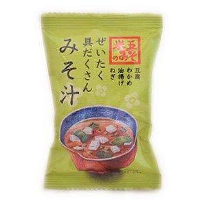 越前おみそ汁・豆腐