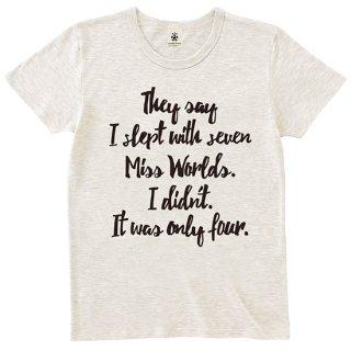 Miss Worlds - oatmeal