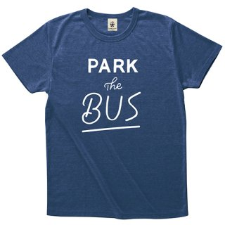 Park The Bus Typo. - deep heather navy