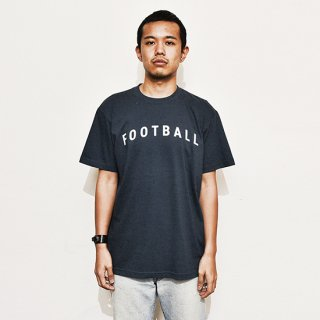 Football Typo. - slate gray navy