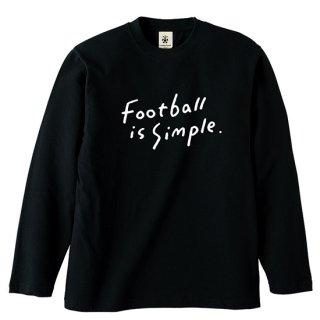 Football is Simple FH ver. Long Sleeve - black