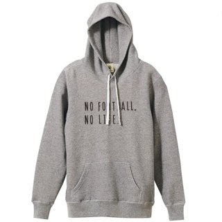 No Football No Life Parka - vintage heather gray