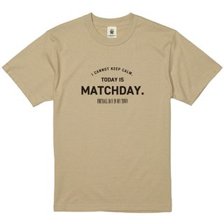 Today Is Matchday - light beige<img class='new_mark_img2' src='https://img.shop-pro.jp/img/new/icons14.gif' style='border:none;display:inline;margin:0px;padding:0px;width:auto;' />
