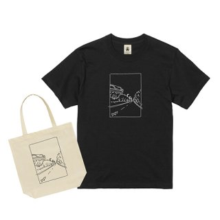 『サムシングオレンジ × EVERYDAY FOOTBALL』Tシャツ&エコトート(ポストカード付)