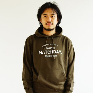 Today Is Matchday PARKA - olive<img class='new_mark_img2' src='https://img.shop-pro.jp/img/new/icons14.gif' style='border:none;display:inline;margin:0px;padding:0px;width:auto;' />