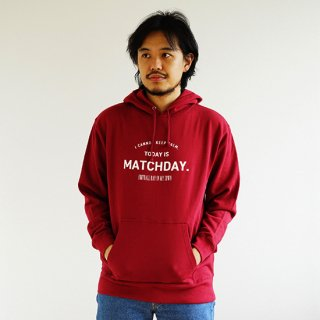 Today Is Matchday PARKA - burgundy<img class='new_mark_img2' src='https://img.shop-pro.jp/img/new/icons14.gif' style='border:none;display:inline;margin:0px;padding:0px;width:auto;' />