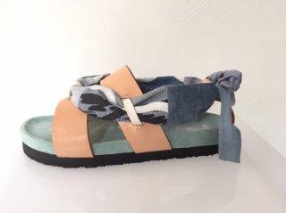 denim surf sandal