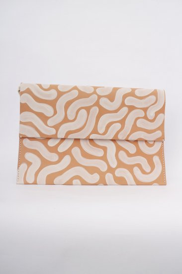 Lilly Folder for LAPTOP / white