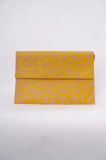 Lilly Folder for LAPTOP / yellow