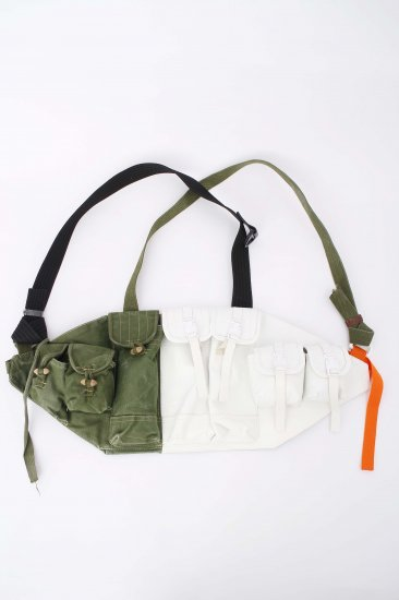 nir / twins chestbag / right leather