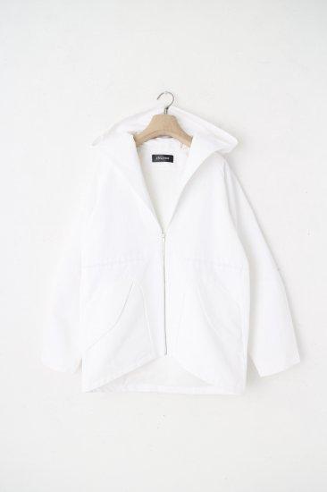 chloma / セイラーフードジャケット / ホワイト