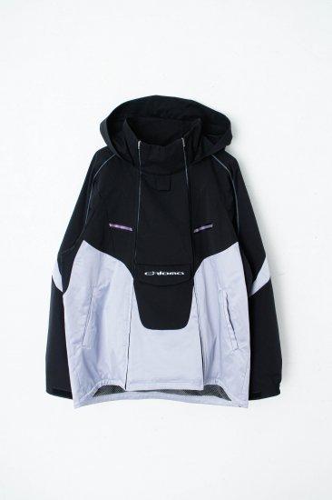chloma / Y2Kジャケット : division model / ブラック×リキッドパープル