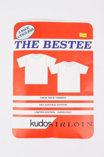 kudos×SIRLOIN/ THE BESTEE / 3PACKTEE