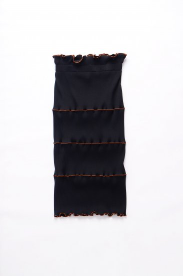 kotohayokozawa / pleats skirt / BK