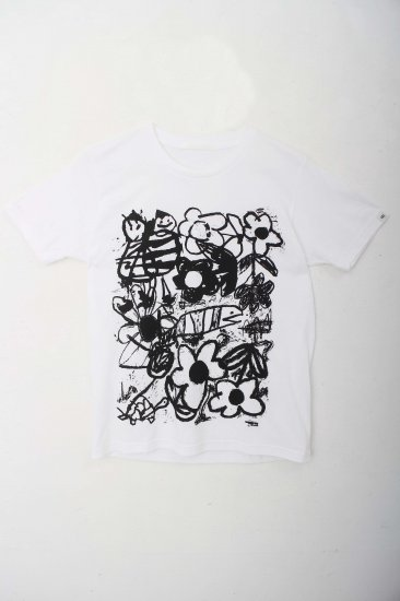 written by / PARYCO limited T Shirts / white