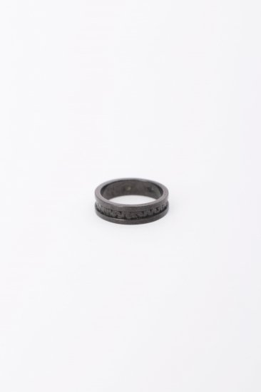 TABOO / Brain  burger Ring/ bk