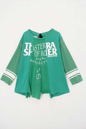 POTTO / custom  T / green