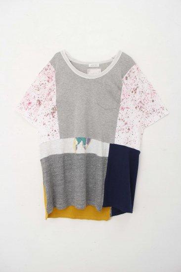 POTTO / custom  T / gray.sakura