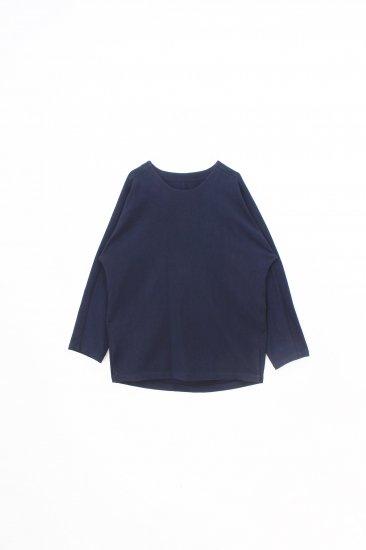 YANTOR /6ply khadi pullover  / navy