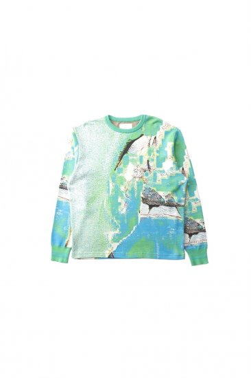 HATRA / Syn Feather Sweater /PARROT