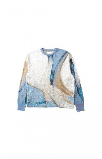 HATRA / Syn Feather Sweater / SWALLOW