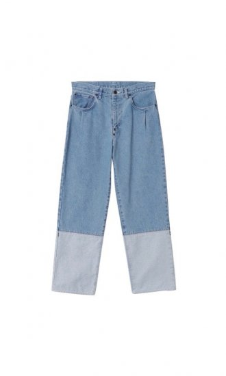 kudos / 2TONE DENIM PANTS / BIO
