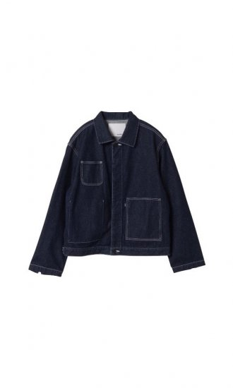 kudos / PATCH POCKET DENIM JACKET / indigo