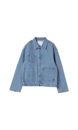 kudos / PATCH POCKET DENIM JACKET / BIO