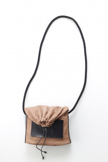 eatable of many orders / M_HOUSE BAG / NATURAL×柿渋