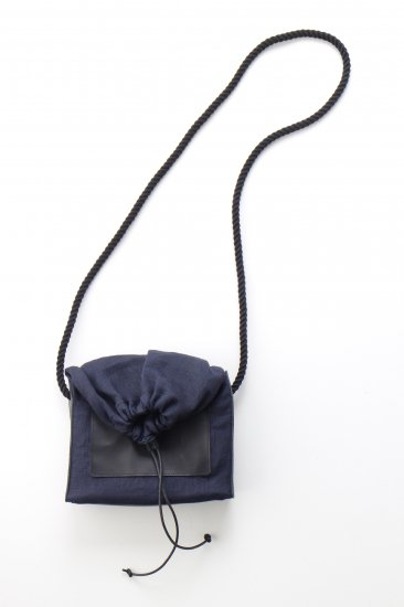 eatable of many orders / M_HOUSE BAG / NAVY ×柿渋