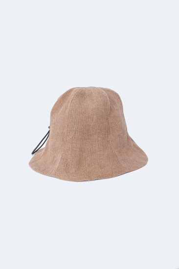 eatable of many orders / M_TULIP HAT / NATURAL×柿渋