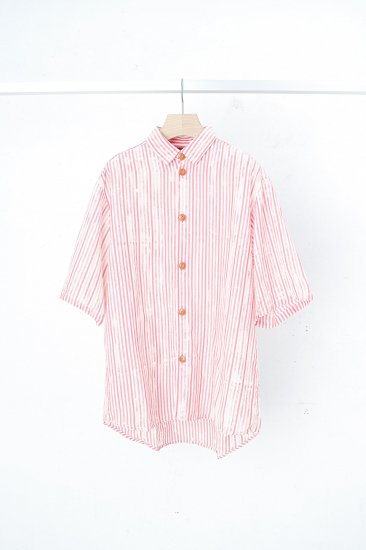 POTTO×UCHIDA DYEING WORKS  / shirts 1