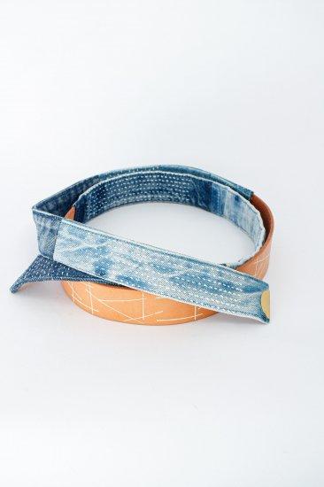 nir / denim belt