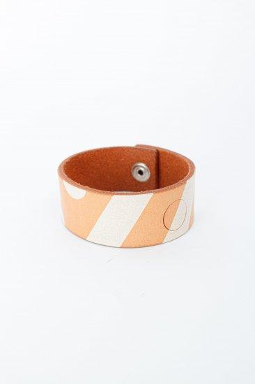 nir / leather bangle