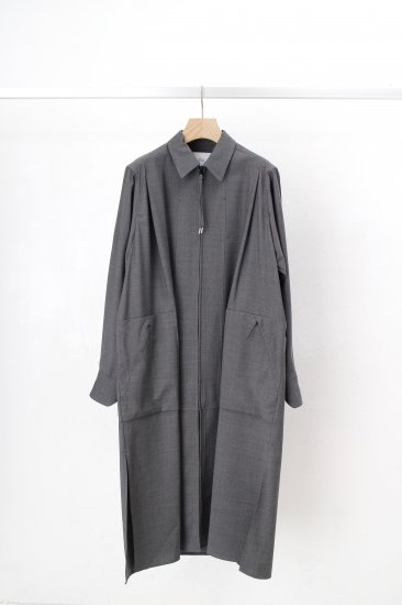 HATRA / Window Over Shirt / grey