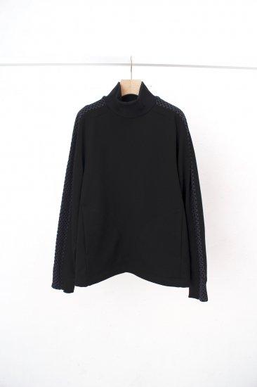 HATRA / Nace Line Sweat Shirt / black
