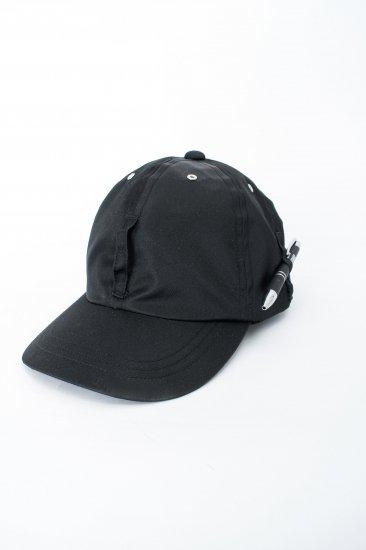 HIDAKA / Dad cap(nylon) / black