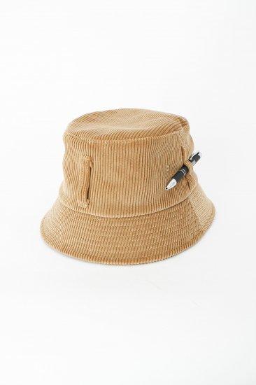 HIDAKA / Dad bucket hat (corduroy)/ beige