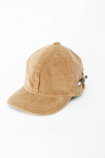 HIDAKA / Dad cap(corduroy) / beige