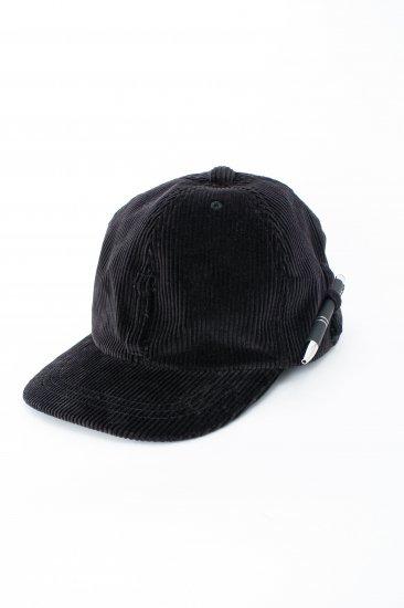 HIDAKA / Dad cap(corduroy) / black