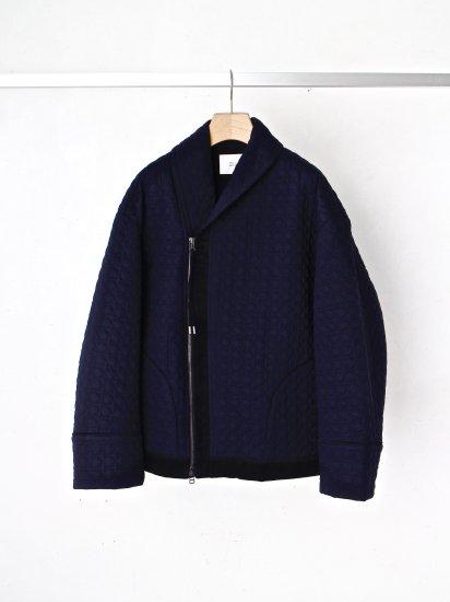 HATRA / Rem Quilt Gown / navy