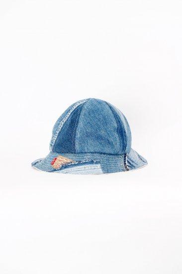 nir / Mix Denim Hat <br>受注商品となります。備考欄を必ずご覧ください。