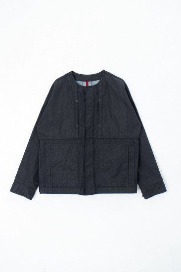 YANTOR / sumi-coating indigo denim jacket